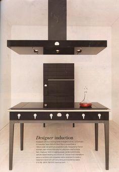 La Cornue's contemporary W collection, designed by French architect Jean-Michel Wilmotte www.lacornue.com Grand Designs September 2014