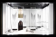 Proenza Schouler's 'First Collection' at Barneys New York Window Display - Best Window Displays Visual Merchandising, New Window Design, Window Reveal, Store Displays, Window Displays, Display Windows, Retail Displays, Visual Display, Store Windows