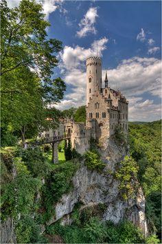 Schloss Lichtenstein, I want to visit this castle someday.