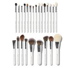 Morphe X Jaclyn Hill The Master Collection Brush Set Makeup Brush Cleaner, Makeup Brush Holders, Makeup Brush Set, Highlighter Brush, Contour Brush, Jaclyn Hill Brushes, Morphe Brushes Set, How To Clean Makeup Brushes, Beauty Brushes