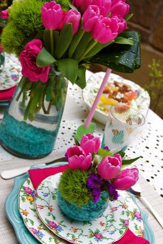 Styled Chaos Easter Table Setting
