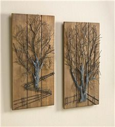 Large Metal Tree Wall Art rustic tree' metal wall art | metal art | pinterest | metal wall