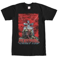 Deadpool Grave Bolts T-Shirt