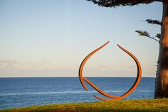 Will Clift, Enclosing Form Reaching Together - Sculpture by the Sea, Cottesloe 2016. Photo Jessica Wyld