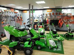 Wide variety of Viking and Stihl products within our showroom.