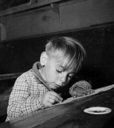 Robert Doisneau // Schoolboy, 1956                              …                                                                                                                                                                                 Plus