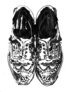 Saks Fifth Avenue NYC / Want It! Brogues by Ian Wright