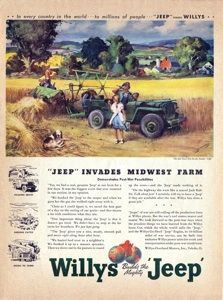 This-Old-Jeep.com: The Willys-Overland Paintings, Part Four, James Sessions