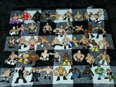 """Find many great new  used options and get the best deals for 46 WWE Rumblers Loose 2.5"""" 2010-2012 with Rare figures. at the best online prices at eBay! Free shipping for many products! Ebay Paintings, Sheamus, Cm Punk, Wwe, Free Shipping, Products, Gadget"""