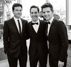 Three of my absolute favorite men on the planet...not sure how I didn't pass out after seeing this picture. For real.