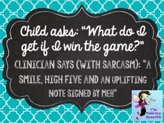 """Fun idea to nip the expectations of """"getting things"""" after playing a board game."""
