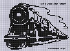 (10) Name: 'Embroidery : Train 2 Cross Stitch Pattern                                                                                                                                                                                 More