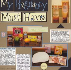 Layout: My Pregnancy Must Haves