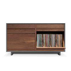 I need this! Symbol Audio - LPC 202 Record Storage Cabinet