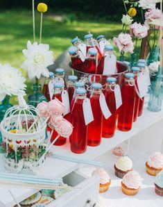Фуршетная свадьба, лимонад