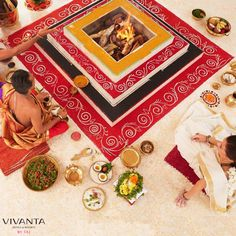 Let the fires of the Dampaty Homam ritual renew the sparks of your union at Bekal, Kerala. #RenewalOfVows  Know More: http://bit.ly/NeverEndingIDos  #Love #Romantic #Spiritual #Homam #Couple