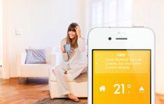 European thermostat http://www.tado.com/en/