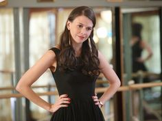 Sutton Foster. ABC Family - Bunheads - Premieres June 11.