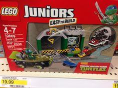 Lego Juniors - Ninja Turtles
