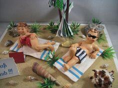 Sommer - Geldgeschenk Urlaub, Urlaubsgeld, Strand, Reise - ein Designerstück von mafi-mak bei DaWanda