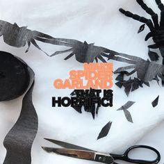 Day 281 - Make Spider Garland That Is Horrific!