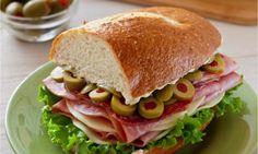 Louisiana-style Muffaletta Sandwich