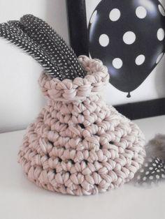 Jar in crochet by NavitrineShop on Etsy