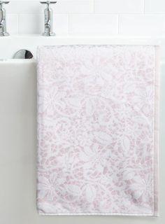 Vintage Polka Heart Hand Towel Grey Towels Home Lighting - Bhs monochrome word bath sheet bhs monochrome word hand towel