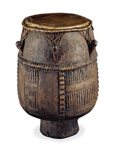 The Akan drum is the oldest African-American object in the British Museum, brought from West Africa to the Colony of Virginia as part of the slave trade around 1735. 'Akan' refers to an ethnic and linguistic group from West Africa which includes the Fante, Asante and Akuapem, and its culture is most apparent today in Ghana.  The drum was acquired by Sir Hans Sloane, whose collection formed the basis of the British Museum when it was founded in 1753.