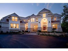 my dream home.   wish one day i could build this!!!!  Two-Story House Plan, 007H-0124