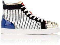 029c7391e49 Christian Louboutin Men s Louis Spikes Flat Sneakers Shoes Sneakers