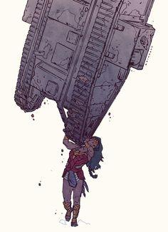 Wonder Woman konradwerks