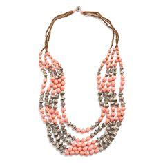 Stitch Fix Summer Accessories | Odette Beaded Layer Necklace