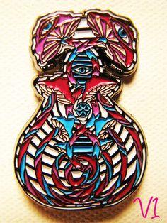 V1 Genesis Hat Pin Single Pin Choice of Colors by LandofLucidity, $12.99