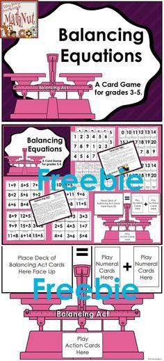 Freebie--Fun Addition Card Game