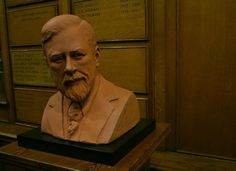 The bust of Bram Stoker in St. Famous Vampires, Local Diners, Count Dracula, Ties That Bind, Bram Stoker, The Conjuring, Celtic, Dublin Ireland, History