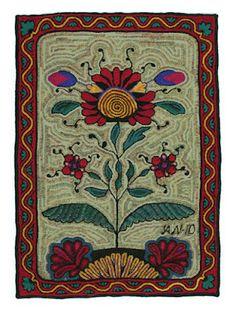 Astrid's Handmade Rugs: Hallie's Rug