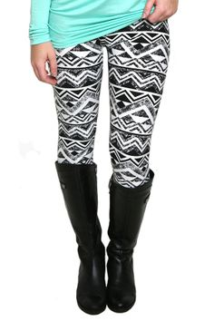 Delta Darling Patterned Leggings