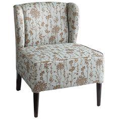 Pier 1 - Annie Wing Chair - Blue