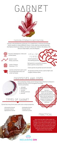 All things Garnet.. As it is January our first starring crystal is Garnet. Learn more today with Reclaiming Zen! Read Today Click the Image. #crystalcorner #birthstone #january#garnet #zodiac #astrology #horoscope #raisevibrations #Buddha #handmade #chakra #buddhist #jewelry #jewellery #shop #zen #reclaimingzen #decor #home #meditation #spiritual #bohemian #blog #zenblog #mentalhealth #spiritualhealth #astrology #love #peace #happiness #teachings #learn #guidance #wicca #buddhist #spiritual