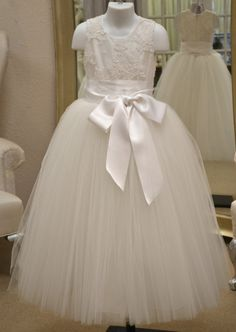 First Communion Dress Communion Dress Holy by CouturesbyLaura