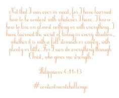 Nancy Ray's contentment challenge