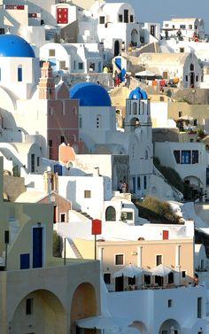 Oia, Santorini, Greece**.