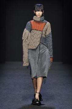Cristiano Burani at Milan Fashion Week Fall 2020 - Runway Photos Fall Fashion Trends, Fashion News, Runway Fashion, Spring Fashion, Fashion Show, Autumn Fashion, Milan Fashion, Fashion Bloggers, Style Fashion
