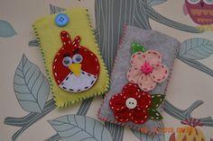 Cute Felt Handphone Cover www.bowsribbons.com