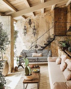 Looks like a house I'd like to have in Lebanon Sieht aus wie ein Haus, . Looks like a house I'd li Outdoor Rooms, Outdoor Living, Exterior Design, Interior And Exterior, Design Jardin, Garden Design, Tuscan Decorating, Decorating Ideas, Cool Ideas