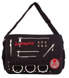Jawbreaker Womens Boombox Zombie Bag  Alternative Fashion Gothic Partywear