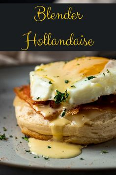 This 5 minute Blender Hollandaise Sauce is literally so easy you'll wonder why you don't make it every weekend. Or every day! Delicious served on eggs benedict, over roasted asparagus, or drizzled over that juicy steak...the list goes on!