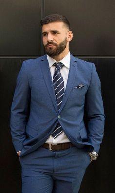 Boss Man, Smart Jokes, Mens Suits, Suit Jacket, Mens Fashion, Jackets, Style, Dress Suits For Men, Moda Masculina