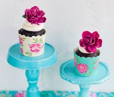 Lulu's Sweet Secrets- Floral cupcakes